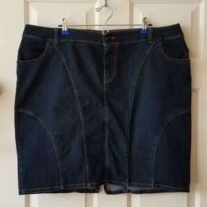 Lane Bryant Jean Skirt